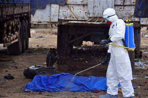 UN: OK to use untested Ebola drugs in outbreak (Update)