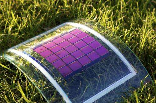 Environmentally compatible organic solar cells