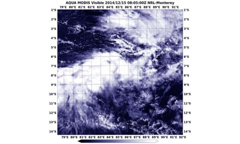 NASA catches Tropical Cyclone Bakung's remnants