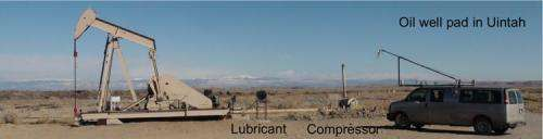 New study pinpoints major sources of air pollutants from oil and gas operations in Utah