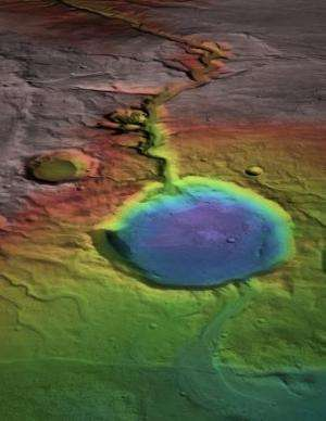 Research suggests warmth, flowing water on early Mars were episodic