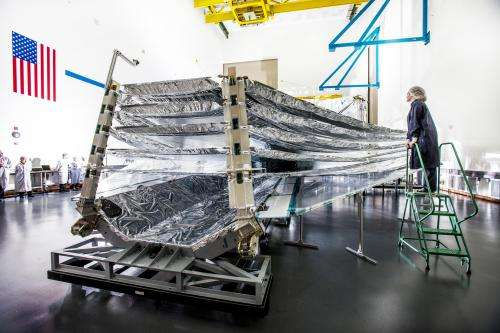 James Webb Space Telescope sunshield test unfolds seamlessly