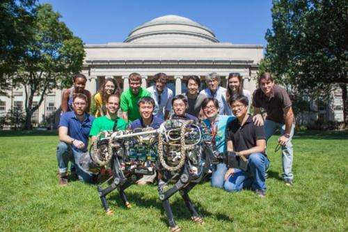 New algorithm enables MIT cheetah robot to run and jump, untethered, across grass