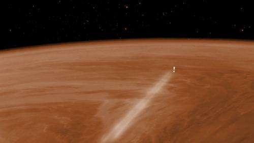 Venus Express:Venus Express: up above the clouds so high