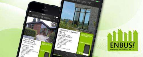 Smartphone app helps home owners on the way to energy efficiency