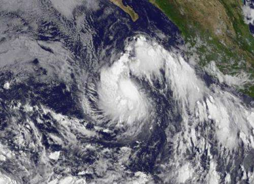 Tropical Storm Karina forms in Eastern Pacific near Socorro Island