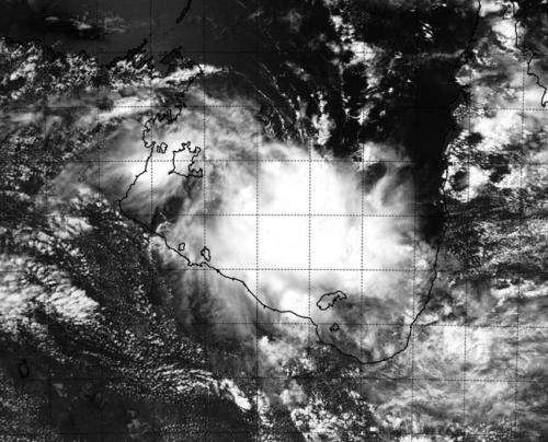 NASA sees Tropical Cyclone Gillian's remnants hoping for comeback