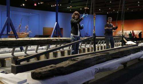 Remains of French ship being reassembled in Texas
