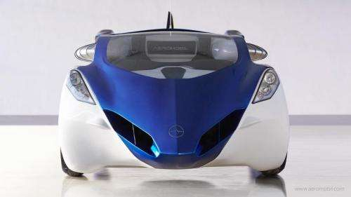 AeroMobil 3.0 transforms from car to flying car