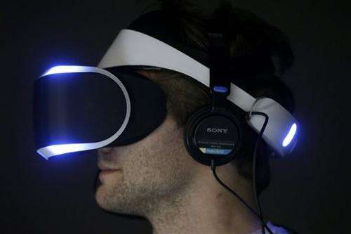 A heads-on look at Sony's virtual reality googles