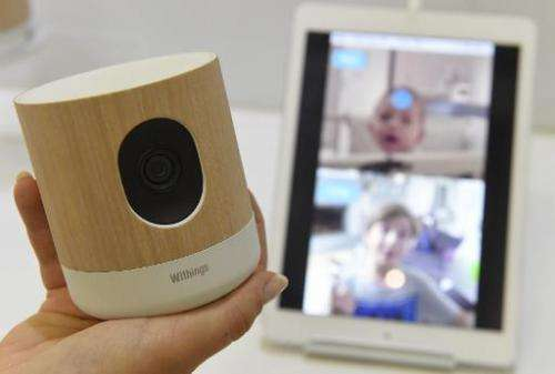 A home surveillance system is displayed at a consumer electronics fair in Berlin September 5, 2014