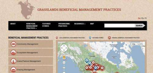 A hundred ways to sustain grasslands and ranchers now at your fingertips: New online tool