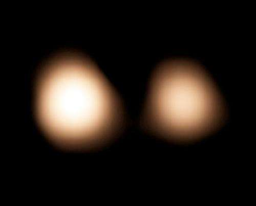 ALMA pinpoints Pluto to help guide NASA's New Horizons spacecraft
