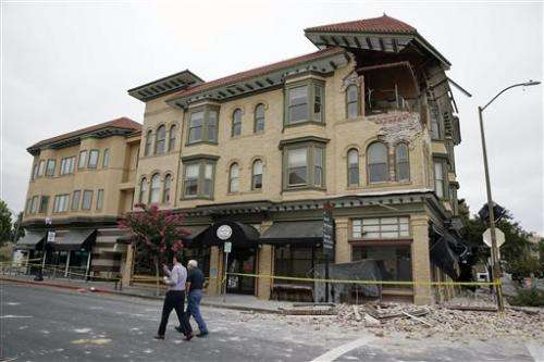 A look at earthquake's impact on California region