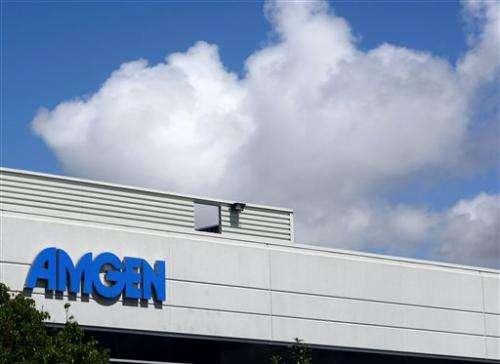 Amgen Q4 profit leaps 30 percent on higher sales (Update)
