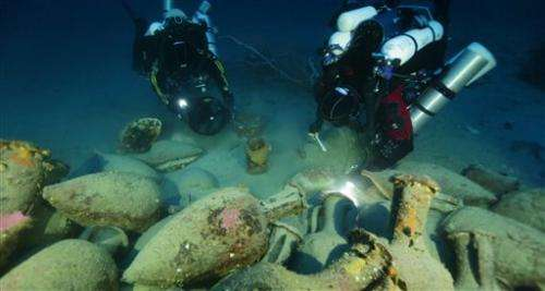 Ancient shipwreck discovered near Aeolian Islands