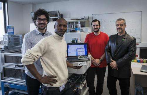 A new sensor uses sound to diagnose faults in industrial machinery