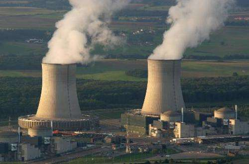 A nuclear power plant in Cattenom, eastern France, one of the plants overflown by mystery drones