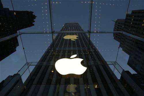 Apple's 1Q disappoints Wall Street, stock falls (Update)
