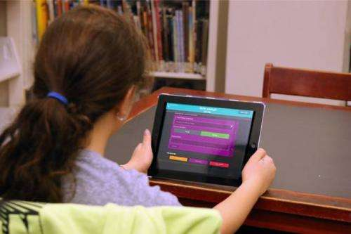App saves teachers time and offers real-time data on student comprehension of material
