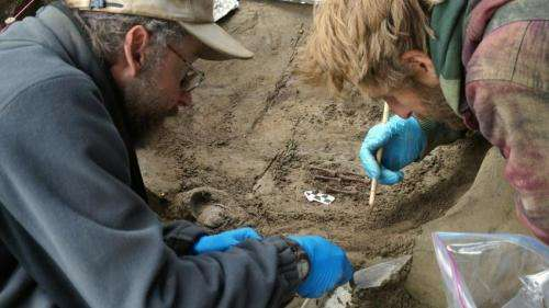 Archeologists discover remains of Ice Age infants in Alaska