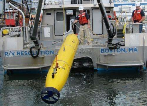 A robot dives into search for Malaysian Airlines flight