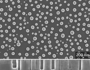 A simple and inexpensive fabrication procedure boosts the light-capturing capabilities of tiny holes carved into silicon