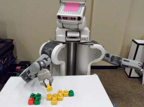 Ask the crowd: Robots learn faster, better with online helpers