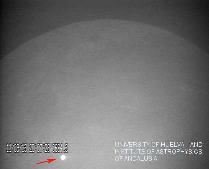 Astronomers spot record-breaking lunar impact