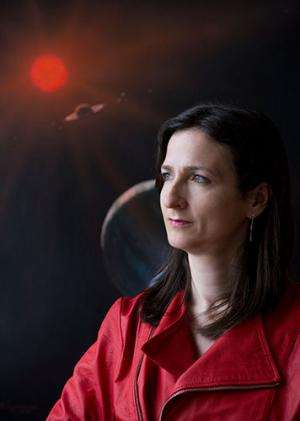 Astrophysicist seeks life on planets outside our solar system