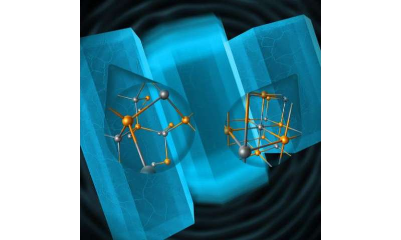 Atomic mechanism for historic materials transformation