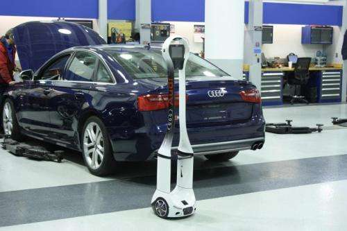 Audi uses technician telepresence to boost customer experience