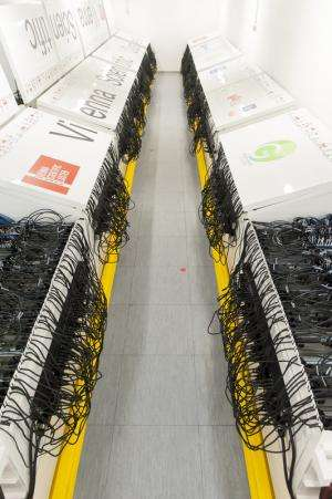 Austria's new green super computer
