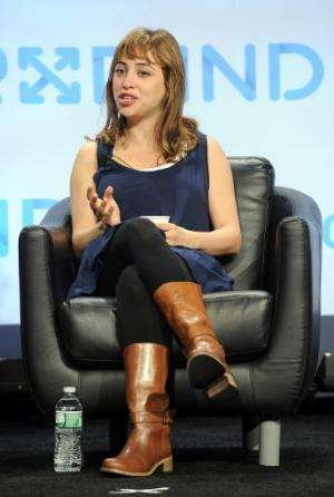 Ayah Bdeir speaks onstage at Engadget Expand NY 2013 on November 10, 2013 in New York City