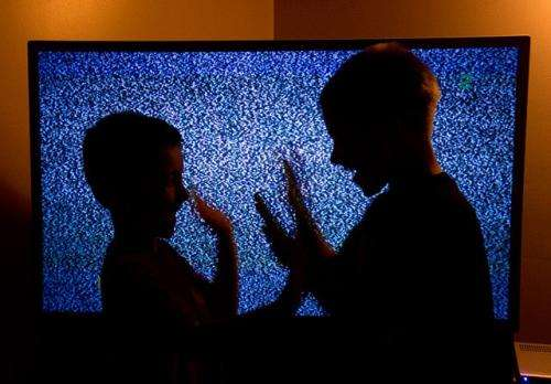 Background TV can be bad for kids