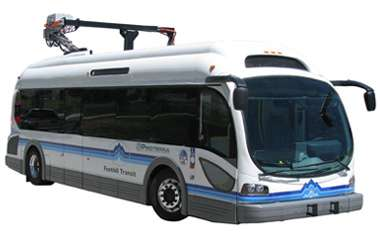 Battery-electric bus does over 700 miles in 24 hours