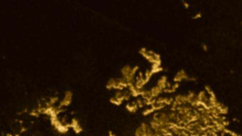 Mysterious 'Magic Island' appears on Saturn's moon Titan