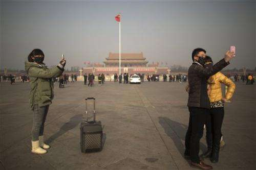 Beijing air pollution at dangerously high levels