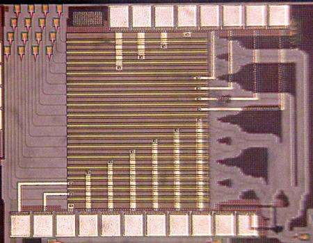 Bending the light with a tiny chip
