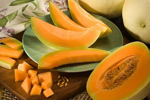 Beta-carotene analysis of orange-fleshed honeydew