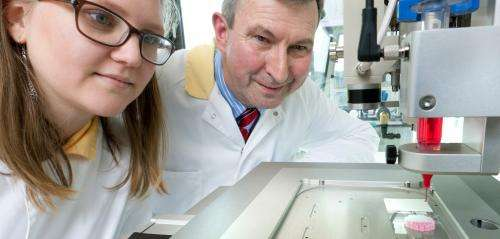 Bioprinting new organs
