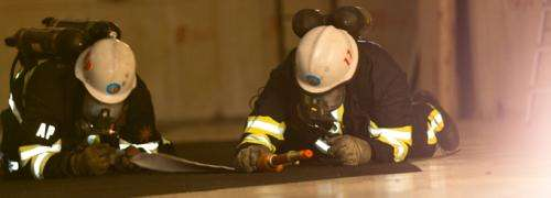 Even 25 metres below ground, positioning system tracks firefighters