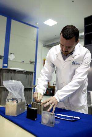 BRIC carries big science in small canisters