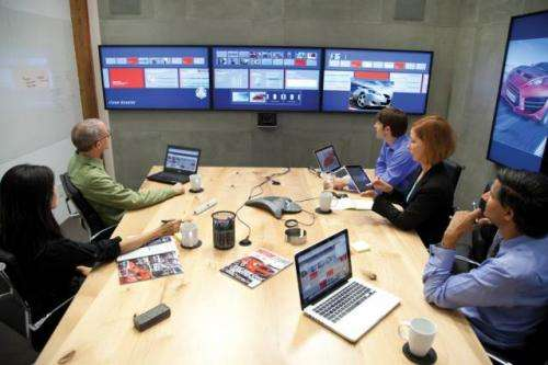 Bringing gesture-control technology from Hollywood to corporate conference rooms