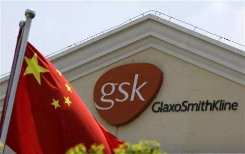 British executive accused in China drug bribery