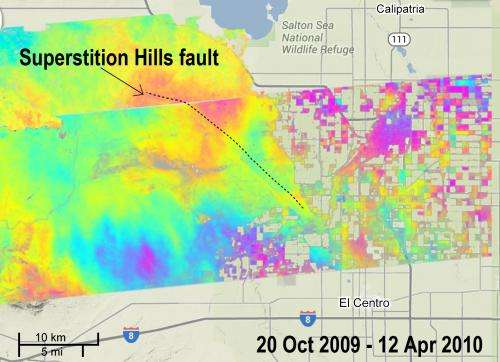 California faults moved quietly after Baja quake