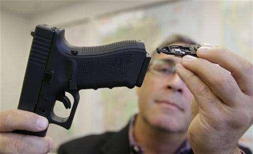 California startup unveils gun technology for cops