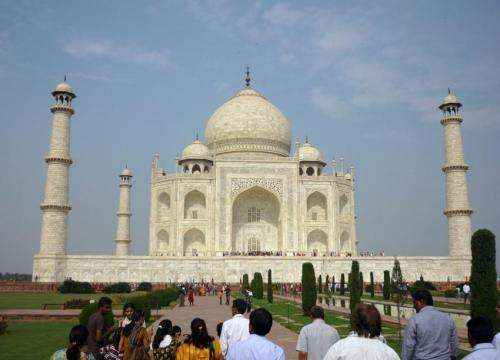 Carbon soot particles, dust blamed for discoloring India's Taj Mahal