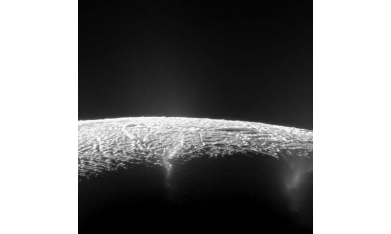 Cassini spacecraft reveals 101 geysers and more on icy Saturn moon