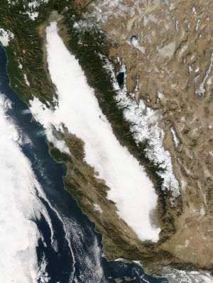 Central Valley sees big drop in wintertime fog needed for fruit and nut crops